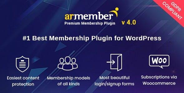 Download ARMember  – WordPress Membership Plugin Wordpress Plugins gpl licenced not nulled not cracked for free