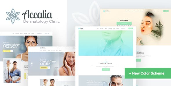 Download Accalia  – Dermatology Clinic Theme wordpress themes gpl licenced not nulled not cracked for free