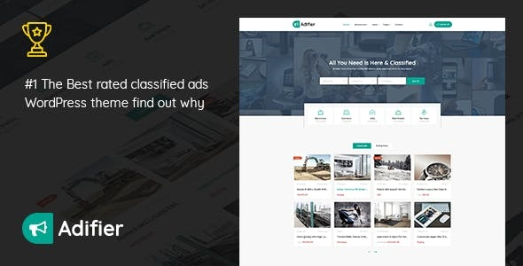 Download Adifier  – Classified Ads WordPress Theme wordpress themes gpl licenced not nulled not cracked for free