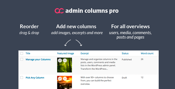 Download Admin Columns Pro Plugin Wordpress Plugins gpl licenced not nulled not cracked for free