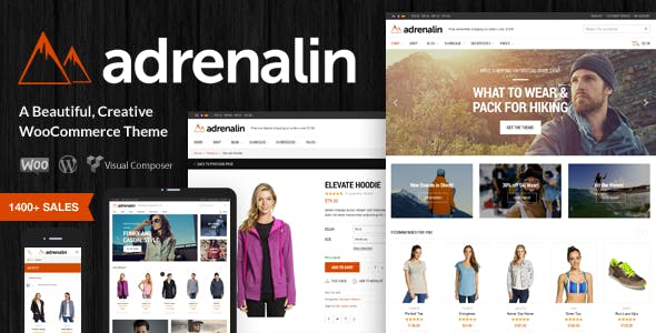 Download Adrenalin  – WooCommerce WordPress Theme wordpress themes gpl licenced not nulled not cracked for free