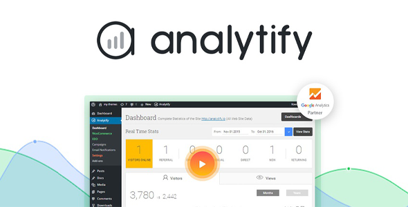 Download Analytify Pro WooCommerce Wordpress Plugins gpl licenced not nulled not cracked for free