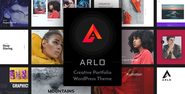 Download Arlo  – Portfolio WordPress Theme wordpress themes gpl licenced not nulled not cracked for free
