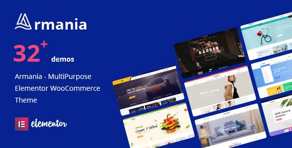Download Armania  – Elementor WooCommerce Theme wordpress themes gpl licenced not nulled not cracked for free