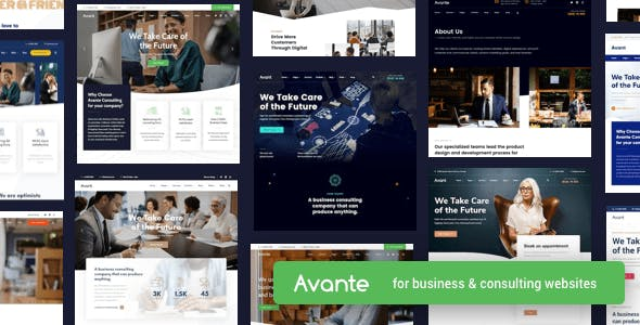 Download Avante  – Business Consulting WordPress Theme wordpress themes gpl licenced not nulled not cracked for free