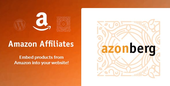 Download Azonberg  – Gutenberg Amazon Affiliates Embed Wordpress Plugins gpl licenced not nulled not cracked for free