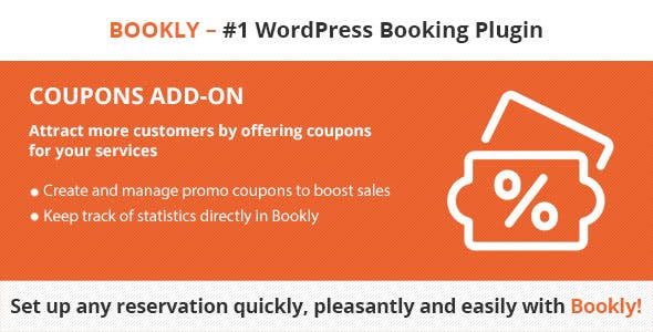 Download Coupons Add-on  for Bookly Pro Wordpress Plugins gpl licenced not nulled not cracked for free