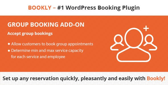 Download Bookly Group Booking (Add-on) Wordpress Plugins gpl licenced not nulled not cracked for free