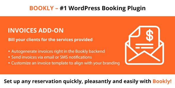 Download Bookly Invoices (Add-on) Wordpress Plugins gpl licenced not nulled not cracked for free