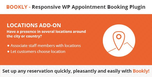 Download Bookly Pro Locations (Add-on) Wordpress Plugins gpl licenced not nulled not cracked for free