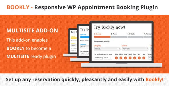 Download Bookly Pro Multisite (Add-on) Wordpress Plugins gpl licenced not nulled not cracked for free