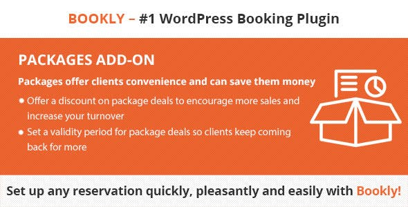 Download Bookly Pro Packages (Add-on) Wordpress Plugins gpl licenced not nulled not cracked for free