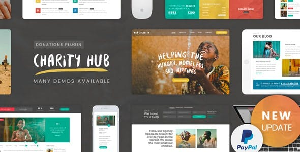 Download Charity Foundation  – Charity Hub Theme wordpress themes gpl licenced not nulled not cracked for free