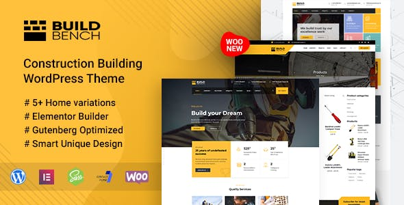 Download Buildbench  – Construction Building Theme wordpress themes gpl licenced not nulled not cracked for free