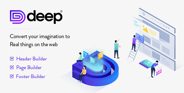 Download Deep  – Creative Multi-Purpose Theme wordpress themes gpl licenced not nulled not cracked for free
