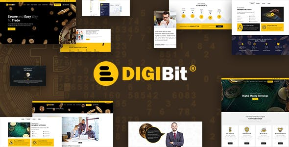 Download DigiBit  – Cryptocurrency Mining Theme wordpress themes gpl licenced not nulled not cracked for free