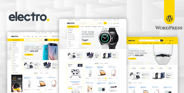 Download Electro Electronics Store Theme wordpress themes gpl licenced not nulled not cracked for free