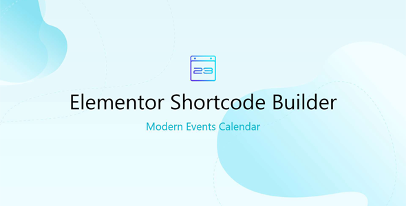Download Elementor Shortcode Builder for MEC Wordpress Plugins gpl licenced not nulled not cracked for free