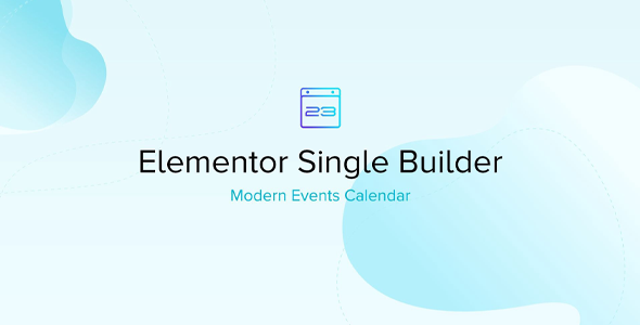 Download Elementor Single Builder for MEC Wordpress Plugins gpl licenced not nulled not cracked for free
