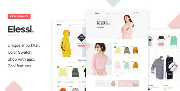 Download Elessi  – WooCommerce AJAX Theme wordpress themes gpl licenced not nulled not cracked for free