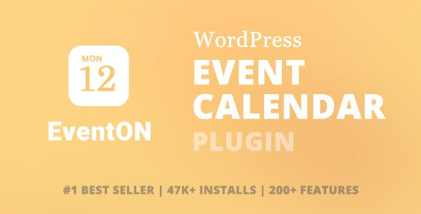 Download EventOn  – WordPress Event Calendar Plugin Wordpress Plugins gpl licenced not nulled not cracked for free