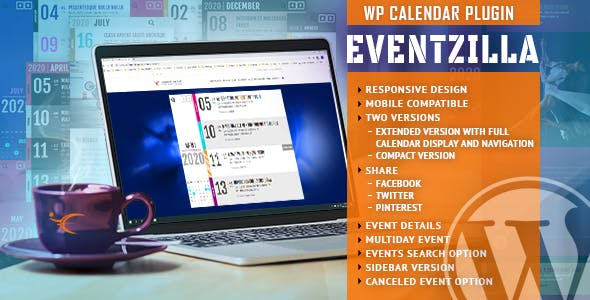 Download EventZilla  – Event Calendar WordPress Plugin Wordpress Plugins gpl licenced not nulled not cracked for free