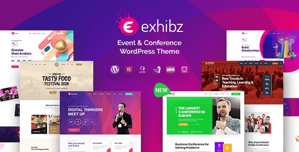 Download Exhibz  – Event Conference Theme wordpress themes gpl licenced not nulled not cracked for free