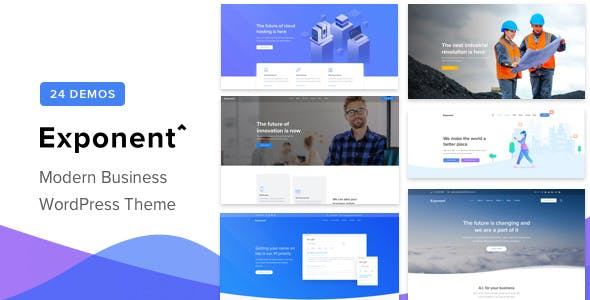 Download Exponent  – Multi-Purpose Business Theme wordpress themes gpl licenced not nulled not cracked for free