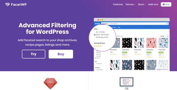 Download FacetWP Flatsome Add-On Wordpress Plugins gpl licenced not nulled not cracked for free