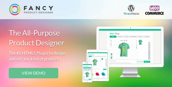 Download Fancy Product Designer Plugin Wordpress Plugins gpl licenced not nulled not cracked for free