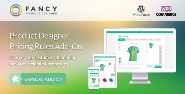 Download Fancy Product Designer Pricing Add-On wordpress themes gpl licenced not nulled not cracked for free
