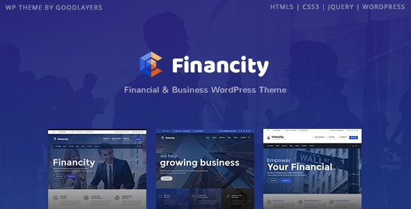 Download Financity  – Business and Financial Theme wordpress themes gpl licenced not nulled not cracked for free