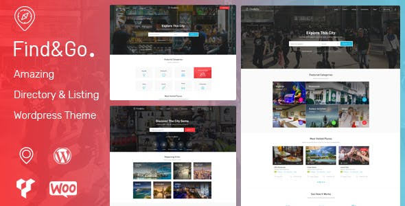 Download Findgo  – Directory Listing WordPress Theme wordpress themes gpl licenced not nulled not cracked for free