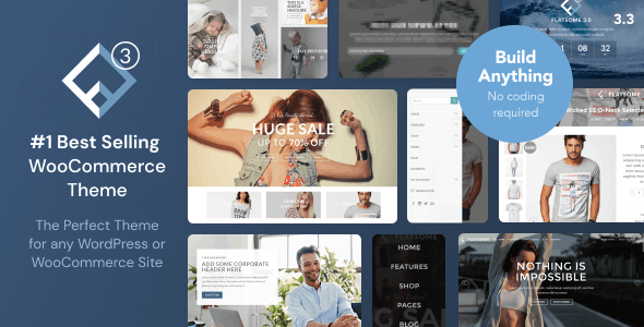 Download Flatsome  – WooCommerce WordPress Theme wordpress themes gpl licenced not nulled not cracked for free