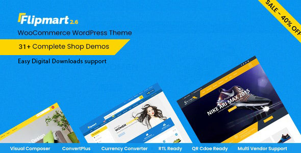 Download Flipmart  – Responsive Ecommerce WordPress wordpress themes gpl licenced not nulled not cracked for free