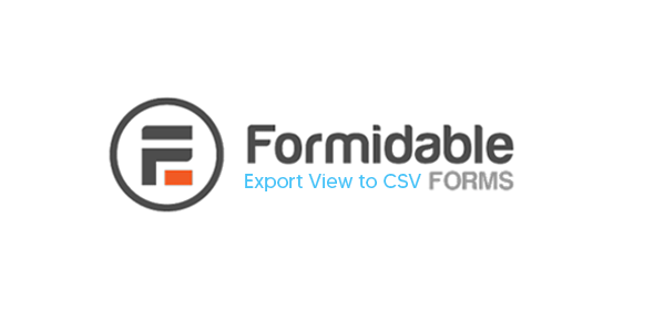Download Formidable Forms Export View to CSV Add-on Wordpress Plugins gpl licenced not nulled not cracked for free