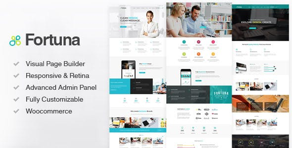 Download Fortuna  – Responsive Multi-Purpose Theme wordpress themes gpl licenced not nulled not cracked for free