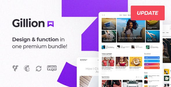Download Gillion  – Blog/Magazine & Shop Theme wordpress themes gpl licenced not nulled not cracked for free