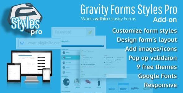 Download Gravity Forms Styles Pro Add-on Wordpress Plugins gpl licenced not nulled not cracked for free