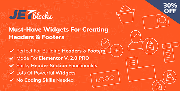 Download JetBlocks  – Exquisite Widgets for Elementor Wordpress Plugins gpl licenced not nulled not cracked for free