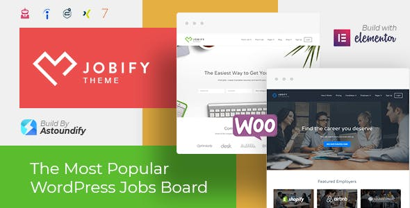 Download Jobify  – Job Board WordPress Theme wordpress themes gpl licenced not nulled not cracked for free