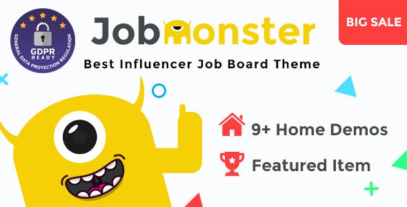Download Jobmonster  – Job Board WordPress Theme wordpress themes gpl licenced not nulled not cracked for free