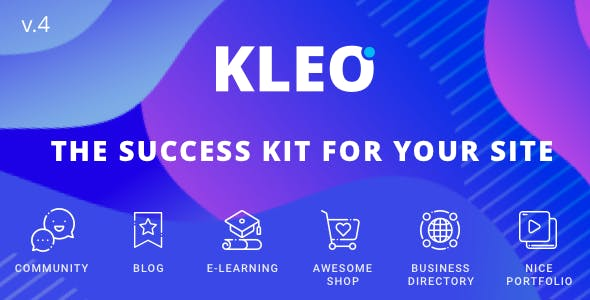 Download KLEO  – Community & Multi-Purpose Theme wordpress themes gpl licenced not nulled not cracked for free