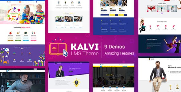 Download Kalvi  – LMS Education WordPress Theme wordpress themes gpl licenced not nulled not cracked for free