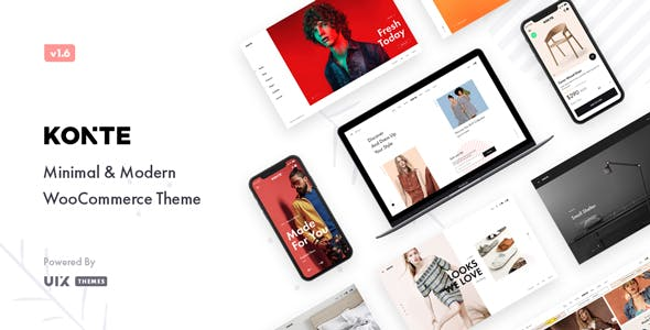 Download Konte  – Minimal WooCommerce Theme wordpress themes gpl licenced not nulled not cracked for free