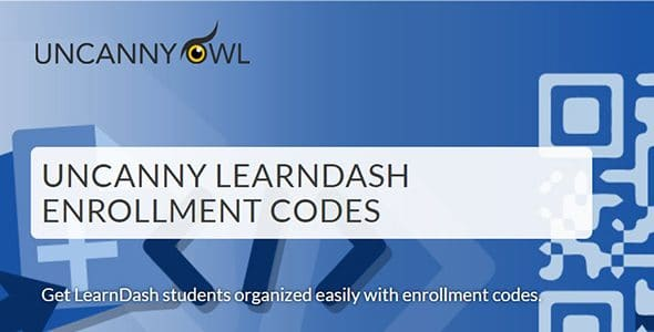 Download Uncanny Learndash Enrollment Codes Wordpress Plugins gpl licenced not nulled not cracked for free