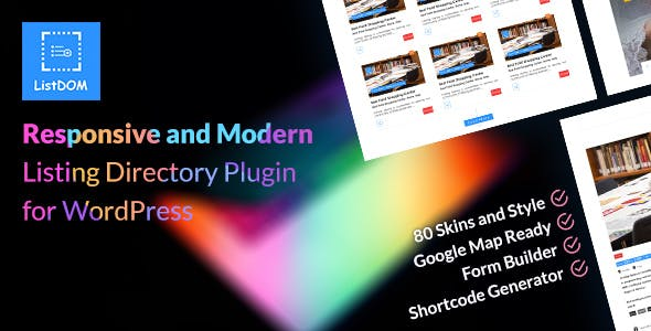 Download Listdom  – Advanced Directory and Listing Wordpress Plugins gpl licenced not nulled not cracked for free