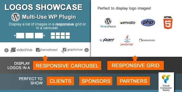 Download Logos Showcase  – Multi-Use Plugin Wordpress Plugins gpl licenced not nulled not cracked for free