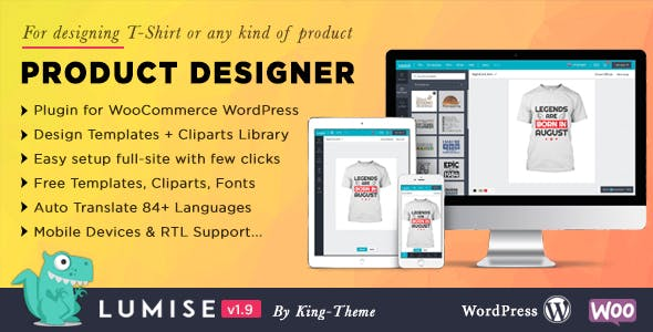 Download Lumise  – Product Designer for WooCommerce Wordpress Plugins gpl licenced not nulled not cracked for free