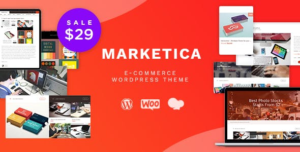 Download Marketica  – eCommerce & Marketplace Theme wordpress themes gpl licenced not nulled not cracked for free